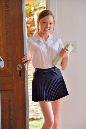 Schoolgirl Small Tits Porn